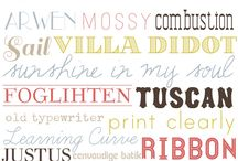 Fabulous Fonts / by Pamela Stephens