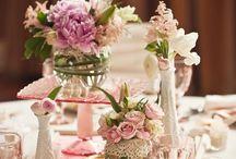 aankleding bloemen bruiloft