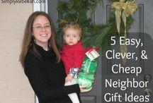 Christmas Neighbor Gifts