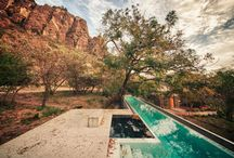 Modern Pools / Hardly your average backyard pool, these stunning contemporary pools will make you want to take the plunge—no matter what the season. / by 2Modern