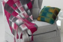 Homeware patterns / King Cole knitted home ware collection