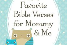 Bible verses for mommy and me