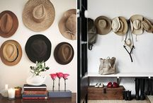 Hat Organization / Chic ways to store, organize and display your hat collection  / by Stylebook Closet App