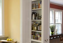 Hidden Shelving systems