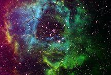 Beautiful, Glittering Cosmic Nature