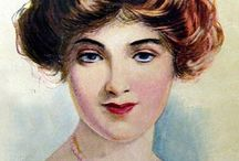 1910s Makeup & Beauty / Vintage, 1910s, makeup, cosmetics, style, hair, scents, vintage ads, editorials/covers