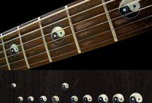 "Symbol / inlay sticker ""Symbol"" guitar/ukulele decals"