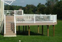 decks/yard