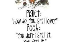 Winnie the Pooh / by Becki Mosher