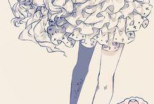 Anime Girl / Anime Girl - Cute