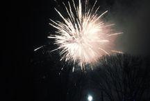 fireworks or pretty lights