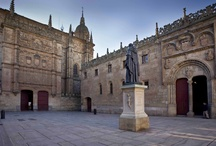 Edificios y espacios de la Universidad de Salamanca