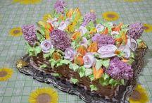 Торт корзина