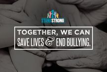 Stop Bullying / We're creating awareness for students and parents to save and transform lives among the next generation by addressing the challenges of bullying, depression and suicide.