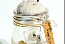 mason jar gifts/crafts / by drewsyarn yarn