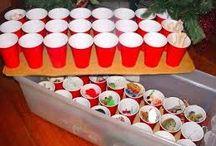 skladování vánočních dekorací