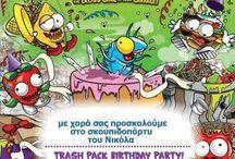 Trash Pack -birthday party-