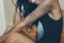 Girls with tattoos ♥