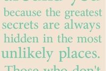 Words / by Gilan Anderson