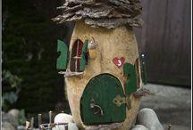 Fairy House  - Tündérház - Tökház / Fairy House  - Tündérház - Tökház