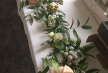 Green and Blush Wedding Flowers