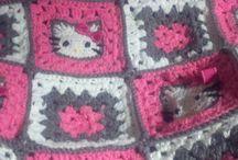 Crochet blanket M♥M