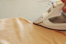 Sewing - Construction Tips / Finish a seam, install a zipper, pleats, tucks, and other useful tutorials for sewing.