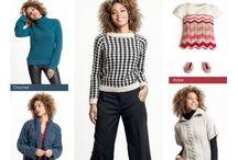 Catalogue 23 automne-hiver 2016-2017 / Modèles tricot pour femmes, enfants et layette. pull tricot femme, gilet tricot femme etc.