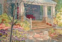 Romantic Art Cottage