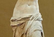 escultures,pintures romanes i mosaics