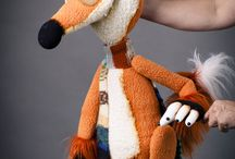 Sewing/fursuit/puppets
