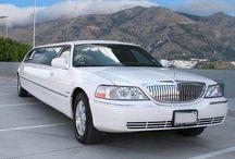White Lincoln Limo / .