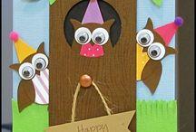 Owl Cards / by Tina Farrow