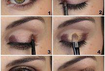 Make up insperatie / Make up inspiratie voor feesten of anderen gelegenheden.