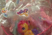Lexi's My Little Pony birthday party / by Sally Hardison