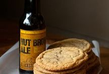 Brown Ale cookies
