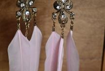 Feather jewelry ideas