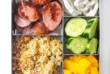 Kids food and healthy lunches