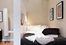 Otthonos kis lakás berendezése