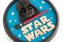 Star wats cake