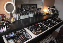Makeup Haven / Makeup, makeup tools, and storage. / by Shawndra Brooks