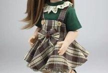 Шарнирные куклы 45 см.