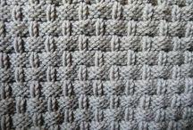 pletené vzorky