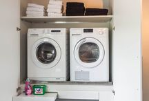 Laundry rooms • Wasruimtes / Inspirational laundry rooms • Inspirerende wasruimtes