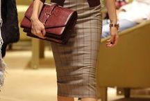 Trendy work wardrobe