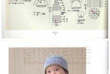 크로셰 아기 모자