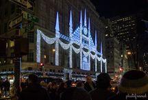 decorations christmas facade