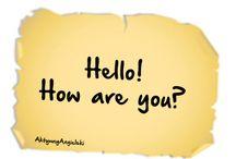 Angielskie zwroty grzecznościowe / Angielskie zwroty grzecznościowe. Pozdrowienia po angielsku.