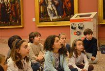 Accendi la luce su Caravaggio! / Alla scoperta dell'importanza della luce, come cambia un dipinto e che emozioni produce a piccoli visitatori.  Attività didattica di #Brerasiracconta dedicata ai bambini di 6-10 anni.