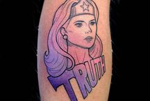 Pop Art Tattoos / Gallery of Pop Art style tattoos for women and men.